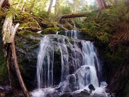 Falls on Wagonwheel Lake Trail