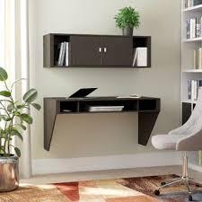 Floating shelf desk Decor Quickview Wayfair Floating Desks Youll Love Wayfair