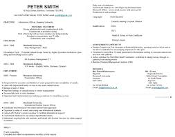 cv sample 15 best cv examples guaranteed to get you hired