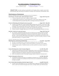 Collection Of Solutions 10 Marketing Resume Samples Hiring