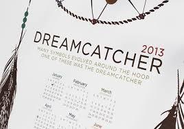 Definition Of A Dream Catcher Dreamcatcher symbol calendar on Behance 79