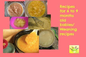 Baby Food Recipes 6 To 9 Months Old Wholesome Weaning Recipes