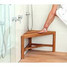teak corner shower stool architecture and home charming bench of small 0 wood small teak r stool