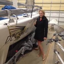 Megan Ratliff - owner of Melges 24 USA805 Decorum