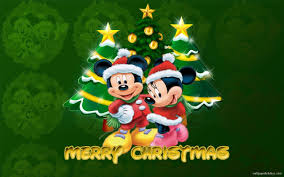 mickey mouse merry christmas wallpaper