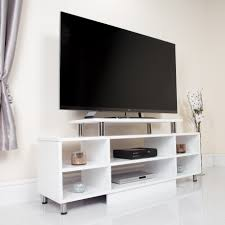 White Furniture For Living Room Http Abreocouk Living Room Furniture Modern Tv Stands 6 Shelf