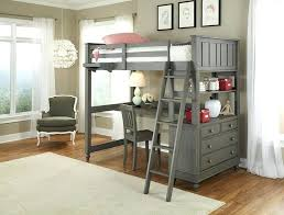 loft with desk lake house twin ikea bed attachment