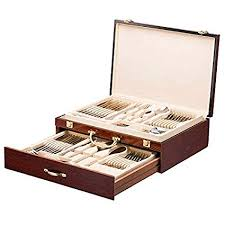 flatware storage box. Wonderful Flatware Italian Collection Flatware Wooden Box Premium Case For With  Drawer Silverware Storage Chest On Storage Box L
