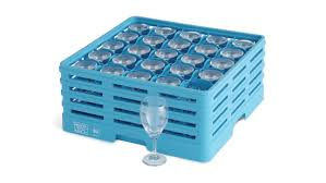 Full Size Glass Racks - 25 Compartment