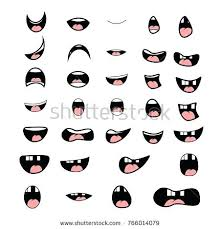 Cartoon Mouth Vector At Getdrawings Com Free For Personal
