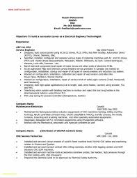 Electronic Engineer Resume Samples New Professional Electrical ...