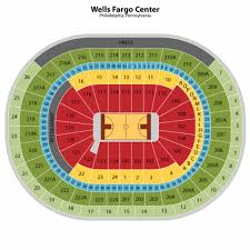 Wells Fargo Center Virtual Seating Chart Sixers Seating Charts Vinyl Click Flooring