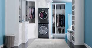 electrolux stackable washer and dryer. electrolux sample installation with washer dryer and stacking kit stackable