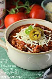 slow cooker copycat wendy s chili is an easy way to prepare your favorite fast food chili