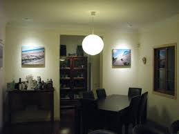 household lighting. exellent lighting a pendant sphere hanging from the ceiling provides general lighting within  dining room directional intended household lighting l