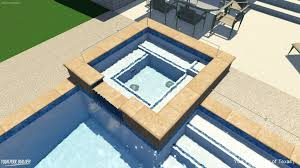 inground swimming pool s cost with a spa
