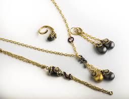italian necklace and bracelet set