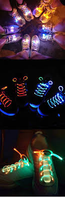 light up your shoelace give your night run a glow this would great for the committee members 5k fun stuff glow night and glow run