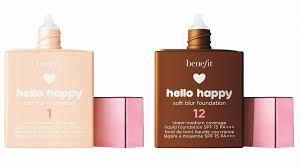 Benefit Foundation Colour Chart Benefit Launches Hello Happy Soft Blur Foundations In 12