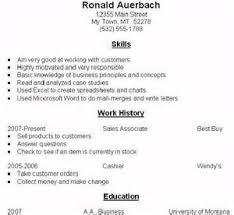 functional resume vs chronological resume examples   example good    functional resume vs chronological resume examples