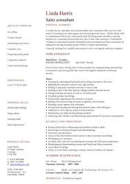 Real Sales Consultant Sample Resume Inspiration Good Sales Cv Kenicandlecomfortzone