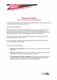 Template Unusual How To Write Resume With Nork Experience Make