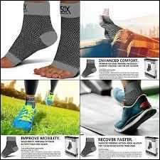 Sb Sox Size Chart Sb Sox Compression Foot Sleeves For Men Women Best Plantar Fasciitis Socks Ebay
