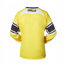 yamaha jersey. 60th anniversary mx riding jersey yellow back yamaha f