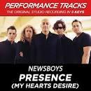 Presence [My Hearts Desire] [Performance Tracks] - EP