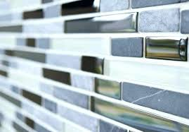 grouting glass tile light gray subway