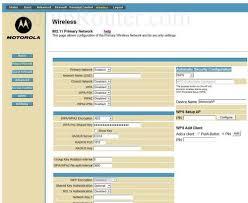 motorola 6580. change the wifi settings on motorola sbg6580 6580