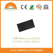 China 250W a+Grade Mono <b>Solar Panel</b> with Ce, <b>TUV</b>, ETL ...