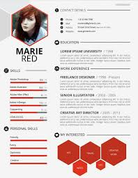 Creative Sample Resume 24 Creative Resume Design Samples that will make you rethink your CV 1