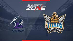 Titans glen willow regional sports stadium, mudgee (fox) 3:00pm 3:00pm 2019 Nrl Melbourne Storm Vs Gold Coast Titans Preview Prediction The Stats Zone