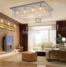 modern ceiling lights for living room. 2017 modern fashion square ceiling living room bedroom lighting lamps glass rod material design from tinger3280, $372.96 | dhgate.com lights for dhgate.com