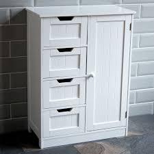 free standing wood cabinets. Exellent Wood FreestandingBathroomCabinetWhiteVanityStorageMirrorWooden And Free Standing Wood Cabinets S