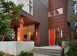 red front door ideas freshome