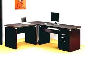 kansas oak hidden home office. Exellent Office Home Office Corner Desks Desk Wooden L Black Furniture  Desks On Kansas Oak Hidden Home Office O