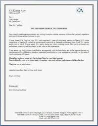 Cover Letter For Chartered Accountant How To Write A Killer Cover Letter For A Postdoctoral Application