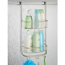over the door shower caddy plastic.  Shower Amazoncom InterDesign Forma Over Door Shower Caddy U2013 Bathroom Storage  Shelves For Shampoo Conditioner And Soap Satin Home U0026 Kitchen For The Plastic