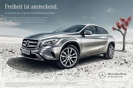 new car launches in germanyAlways restless the MercedesBenz GLA market launch campaign in