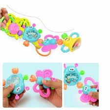 <b>1Pc</b> Newborn Toddler <b>Baby</b> Shaking <b>Bell</b> Rattles Teether Toys Kids ...