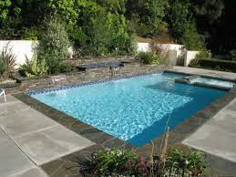Design With Blue Tile Floor Ideas For Swimming Pool Designs For Small