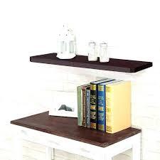 espresso floating shelves wall shelf target canada