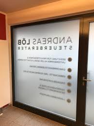 Sichtschutz Und Beschriftung Im Eingangsbereich Fontfront