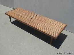 coffee table w wood slats