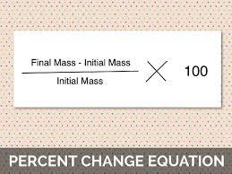 equation for percentage change jennarocca