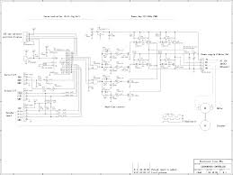 Automations motor control circuits dc servomotor controller schematic 3 phase supply circuit and wire