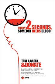 bold typeface yet again using colour to highlight the importance donating blood today at avrmc