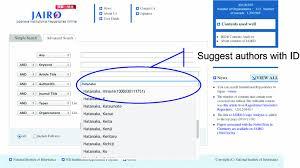For Resolver Management Japanese Springerlink Researchers Name Identifier System Researcher